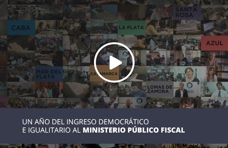 Banner de Video de un año de Ingreso Democrático