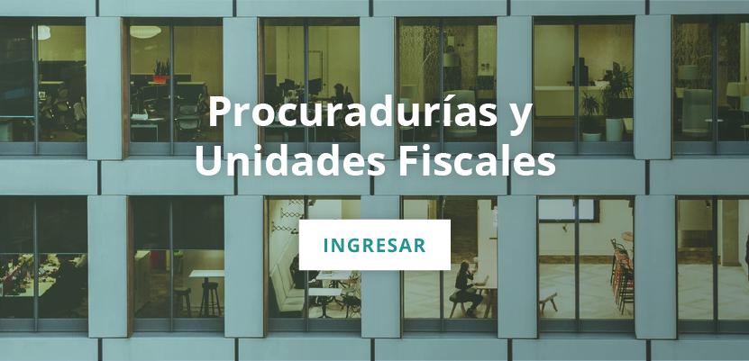 ver procuradurías y unidades fiscales